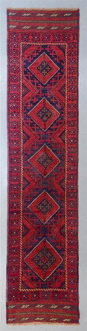 Sale 8480C - Lot 96 - Persian Baluchi Runner 260cm x 60cm