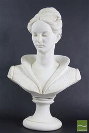 Sale 8516 - Lot 43 - Italian Cast Female Bust - After A. Gianelli