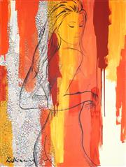 Sale 9009A - Lot 5045 - Kristie Stenning - Venus 121.5 x 91 cm (stretched and ready to hang)