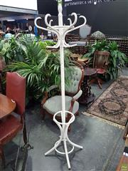 Sale 8601 - Lot 1048 - Timber Coat Stand