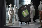 Sale 8160 - Lot 41 - Composition Statues with a Signed Canowindra Plate