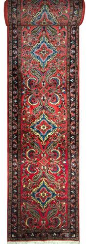 Sale 8307A - Lot 100 - Persian Saruq 757cm x 82cm RRP $4000