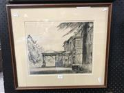 Sale 9016 - Lot 2089 - H. Wilson, The Carrage Cover, Engraving, 27.5x34cm