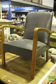 Sale 8499 - Lot 1098 - Art Deco Armchair