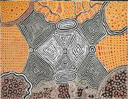 Sale 8535 - Lot 503 - Punata Stockman (1956 - ) - Sugarbag at Mt. Denison, 2007 122 x 91cm (stretched & ready to hang)