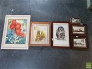 Sale 8548 - Lot 2073 - 6 Artworks incl. Hadler, Oils , & Watercolours