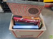 Sale 8548 - Lot 2119 - Collection of Aboriginal Style Canvases incl J.Crow