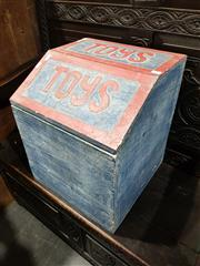 Sale 8760 - Lot 1054 - Rustic Toy Box