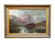 Sale 8888H - Lot 18 - Antique Scottish oil by  F.E. Jamieson  British 1895-1950  oil on canvas       41 x 62 cm