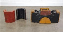 Sale 9255 - Lot 1048 - Collection of timer industrial moulds