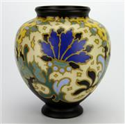 Sale 8139 - Lot 33 - Gouda Regina Vase