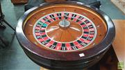 Sale 8383 - Lot 1036 - Full Size Roulette Wheel with Travelling Case