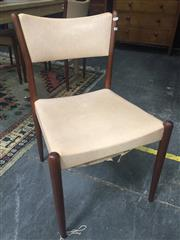 Sale 8839 - Lot 1321 - Set of Four Retro Dining Chairs