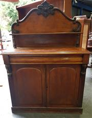 Sale 8942 - Lot 1031 - Cedar Chiffonier with one Pillow Drawer and Cupboard Below (H: 153, W: 106, D: 45cm)