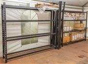Sale 8984M - Lot 10 - Two lots of three bay Dexion units each height 213cm x width 253 x depth 45cm with additional four shelves.