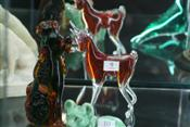 Sale 7875 - Lot 9 - Murano Figure of a Poodle & a Murano Figure of a Cow