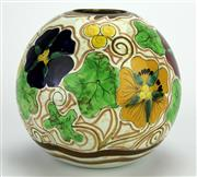 Sale 8139 - Lot 34 - Gouda Royal Goedewaagen Vase