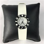 Sale 8283B - Lot 67 - A MOSCHINO WRISTWATCH, on leather band, new in gift box.