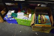 Sale 8405 - Lot 2249 - 3 Boxes of Toys incl. Board Games, etc