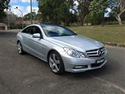 Sale 8451V - Lot 5001 - Mercedes-Benz E250 CGi                                                                Body: Coupe...