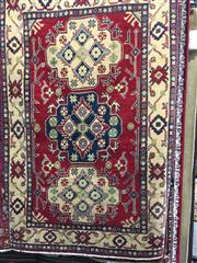 Sale 8740 - Lot 1570 - Afghan Kazak (160 x 104cm)