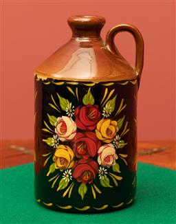 Sale 9260M - Lot 36 - Pearsons of Chesterfield handpainted glazed jug, H 21cm