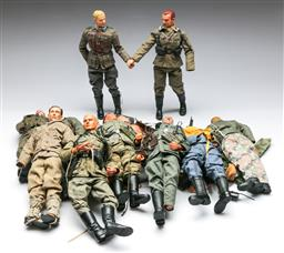 Sale 9156 - Lot 51 - Large Collection of Dragon 1:6 scale action Figures incl Accessories in Tidy Drawers