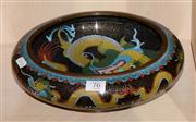 Sale 8080A - Lot 76 - A Chinese Cloisonné dragon bowl with Ming mark