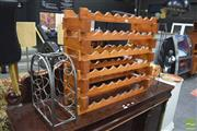 Sale 8326 - Lot 1624 - Timber Wine rack w 2 Others