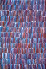 Sale 8611A - Lot 5016 - Jeannie Mills Pwerle (1965 - ) - Bush Yam 151 x 97cm