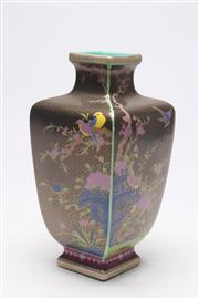 Sale 8685 - Lot 98 - Porcelain And Enamelled Chinese Vase With Flower Design