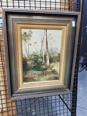 Sale 8699 - Lot 2027 - Joseph - Menai, Bush View, oil on board, SLR