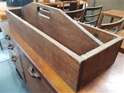 Sale 8839 - Lot 1033 - Vintage Timber Carry All