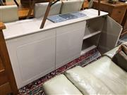 Sale 8851 - Lot 1050 - High Gloss Sideboard with 4 Doors