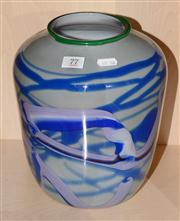 Sale 8080A - Lot 77 - A signed art glass bowl by possible by K Rowe.