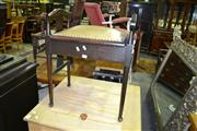 Sale 8093 - Lot 1499 - Lift Top Piano Stool With Inlaid Sides