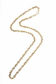 Sale 8315 - Lot 355 - A 9CT GOLD PRINCE OF WALES CHAIN; Italian made, wt 12.4g, length 50cm.