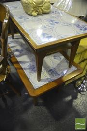 Sale 8338 - Lot 1476 - Two Tiled Top Coffee Tables