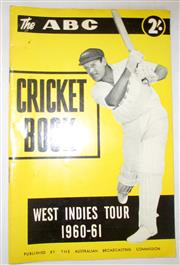 Sale 8460C - Lot 36 - ABC Cricket Book West Indies Tour 1960–61. Very good.