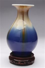 Sale 8694 - Lot 14 - Jingdezhen Blue And Brown Glaze Vase