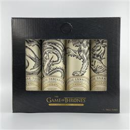 Sale 9120W - Lot 1460 - The Game of Thrones 'The Collectors Box' Single Malt Scotch Whisky Collection - 7x 700ml bottles each in canister, in box