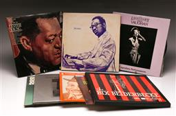 Sale 9136 - Lot 69 - A collection of mostly jazz LP records including Sarah Vaughan and Ellis Larkins