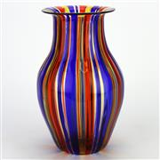 Sale 8139 - Lot 63 - Murano Vetro Artistico Art Glass Vase