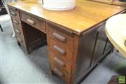 Sale 8299 - Lot 1083 - Oak Partners / Bankers Desk