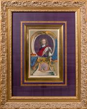 Sale 8338A - Lot 78 - A pair of framed coloured prints, of The Earl of Orford, and The Duke of Gloucester, total size of each 84 x 65cm