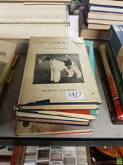 Sale 8563T - Lot 2417 - Collection of Terrier Books incl. Pardoe, J.H. Fox Terrier; West Highland White Terrier; Wood, E.L. Smooth Fox Terrier; Lee, R...