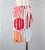 Sale 8740F - Lot 176 - A Marccain abstract print pencil skirt, N4
