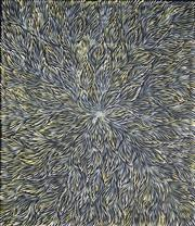 Sale 9009A - Lot 5031 - Patricia Kamara (c1960s - ) - Bush Medicine 137 x 118 cm (stretched and ready to hang)