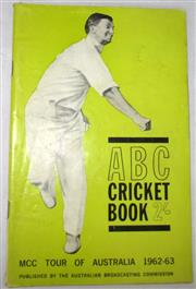 Sale 8460C - Lot 38 - ABC Cricket Book MCC Tour of Australia 1962–63. Very good.