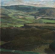 Sale 8755A - Lot 5079 - Artist Unknown (C20th) - Overlooking the Country Valley 92 x 92cm
